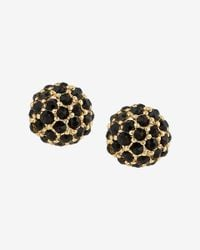 Express | Black Fireball Post Earrings | Lyst