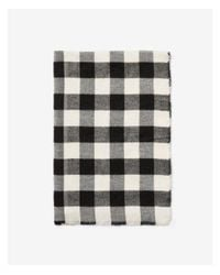 Express - Black Checkered Woven Scarf for Men - Lyst
