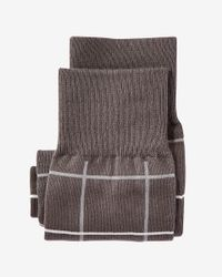 Express - Gray Knit Boxer for Men - Lyst