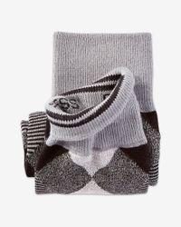 Express - Black Diamond Dress Socks for Men - Lyst