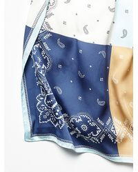 Free People - Multicolor Four Square Bandana - Lyst