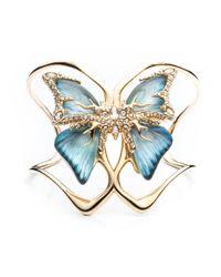Alexis Bittar - Blue Jardin Mystã¨Re Butterfly Cuff - Lyst