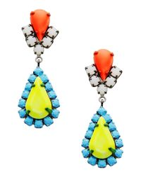 Tom Binns | Blue Earrings | Lyst