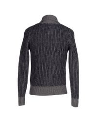 Replay | Blue Cardigan for Men | Lyst