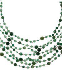 Rosantica - Green Agate Pegaso Necklace - Lyst