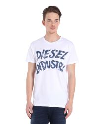 DIESEL | White T-aethalas for Men | Lyst