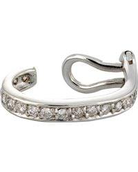 Ana Khouri | Metallic Small Mina Ear Cuff Size Os | Lyst