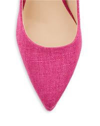 Charles by Charles David | Pink Plateau Stacked Stiletto Platform Pumps | Lyst