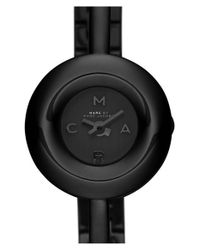 Marc Jacobs - Black 'dinky Donut' Bangle Watch - Lyst