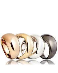 Astley Clarke - Metallic Gold Astley Bombe Ring - Lyst