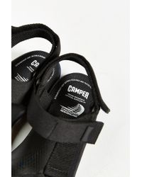 Camper | Black Match Sandal for Men | Lyst