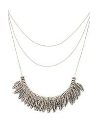 Forever 21 | Metallic Sunburst Statement Necklace | Lyst