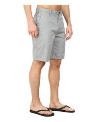 Hurley - Gray Dri-fit Harry Walkshort for Men - Lyst