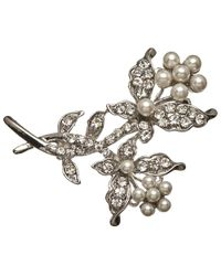 John Lewis | Metallic Faux Pearl Branch Brooch | Lyst