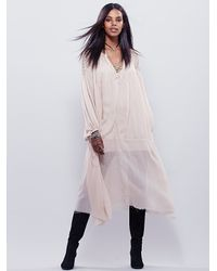 Free People - Natural Fp One Womens Fp One Madrid Maxi - Lyst