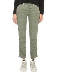 NSF | Green Edith Pants | Lyst