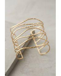 Anthropologie | Metallic Clustered Crest Cuff | Lyst