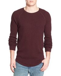 Lucky Brand | Brown Long Sleeve Crewneck Thermal for Men | Lyst