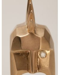 Kelly Wearstler - Metallic 'head Trip' Ring - Lyst