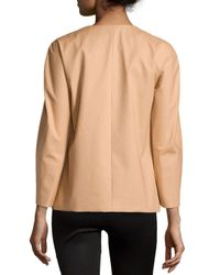 Michael Kors - Natural Mac Swing Jacket - Lyst