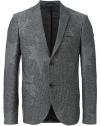 Neil Barrett - Gray 'pop Art Star' Blazer for Men - Lyst