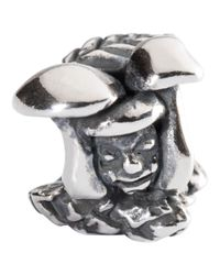 Trollbeads | Metallic Heart Catcher Bead Charm | Lyst