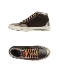 HTC - Brown High-tops & Sneakers - Lyst