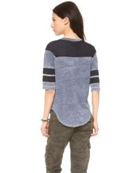 Bliss and Mischief - Blue Brock Tee - Lyst