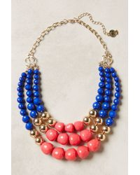 Anthropologie | Blue Currant Layered Necklace | Lyst