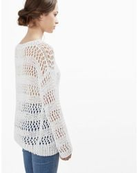 Wool And The Gang | White Penelope Sweater | Lyst