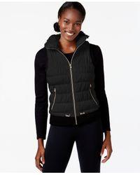 Calvin Klein | Black Performance Wind-resistant Vest | Lyst