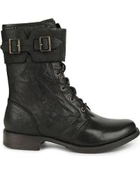 UGG - Black Maaverik Leather Boots - Lyst