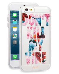 Sonix - White 'don't Kill My Vibe' Iphone 6 & 6s Case - Lyst