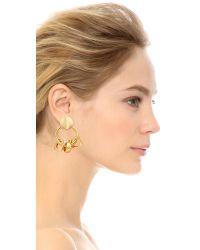 Lizzie Fortunato - Metallic Retro Earrings - Lyst