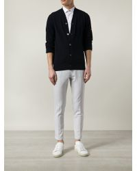 Play Comme des Garçons - Blue Classic Cardigan for Men - Lyst