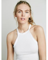 Free People | White Simply Cami | Lyst