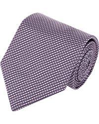 Brioni - Purple Jacquard Necktie for Men - Lyst