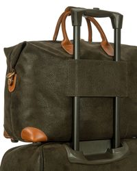 """Bric's - Green Olive Life 18"""" Cargo Duffel for Men - Lyst"""