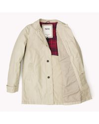 Tommy Hilfiger | Brown Cotton Blend Trenchcoat for Men | Lyst