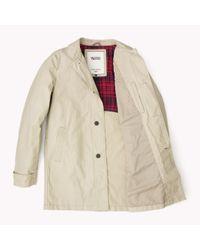 Tommy Hilfiger - Brown Cotton Blend Trenchcoat for Men - Lyst