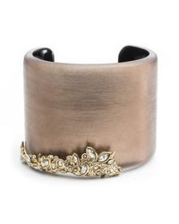 Alexis Bittar - Brown Crystal Lace Cuff You Might Also Like - Lyst