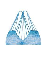 Mikoh Swimwear - Blue Banyans Top - Lyst