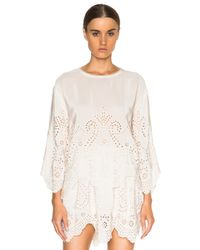 Ulla Johnson | White Althea Top | Lyst