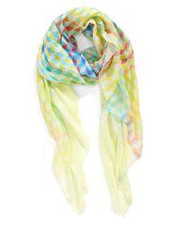 Echo - Multicolor Geo Print Wrap - Lyst