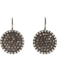 Roberto Marroni - Gray Women's Sand Drop Earrings - Lyst