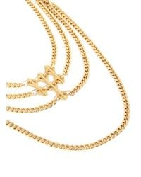 Ela Stone - Metallic Paloma Geometric Chain Necklace - Lyst