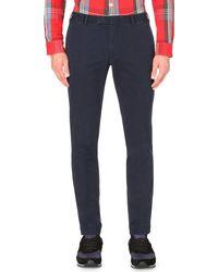 Polo Ralph Lauren - Blue Hudson Slim-fit Stretch-cotton Chinos for Men - Lyst
