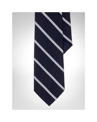 Polo Ralph Lauren | Blue English Repp Stripe Tie for Men | Lyst