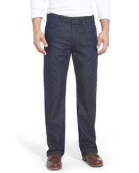Mavi Jeans - Blue 'matt' Relaxed Fit Jeans for Men - Lyst