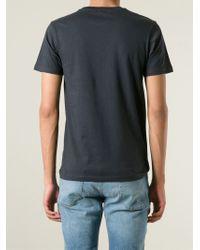 Paul Smith | Gray Lightning Bolt Print T-Shirt for Men | Lyst